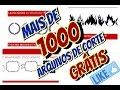 1000 arquivos de corte grátis - Silhouette - YouTube