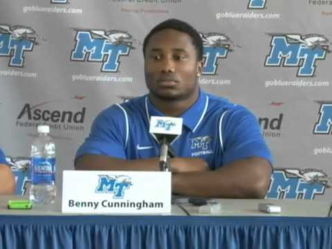 Benny Cunningham Interview 8/1/2012 video.