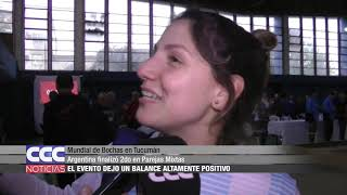 Mundial de Bochas en Tucumán