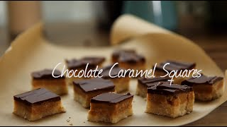 How to Make Chocolate Caramel Squares