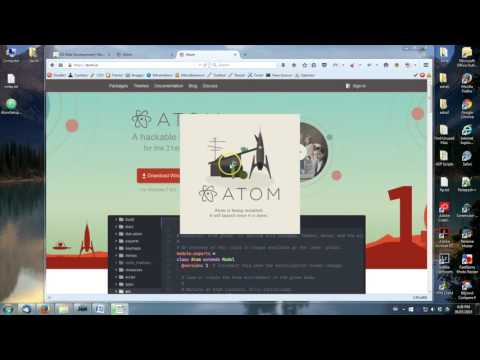 03 Downloading and Installing Atom