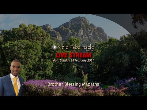 2021-0228PM - Brother Blessing Mapatha - The Unwritten Word, Revealed