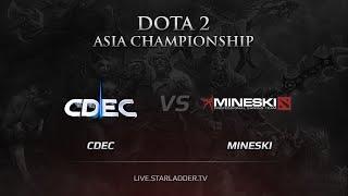CDEC vs Mineski, game 2
