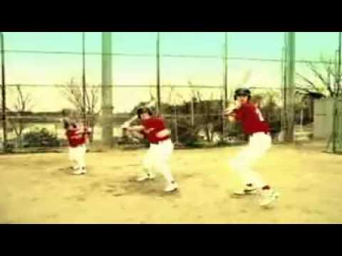 funny japanese baseball ad