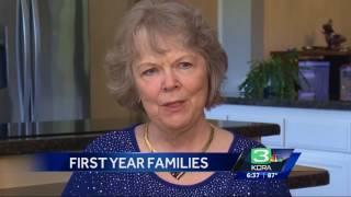 KCRA #FirstYearFamilies June Carla and Larry Virga