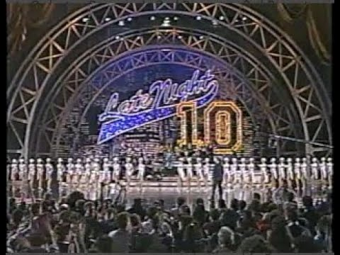 10th Anniversary Special on Letterman, February 6, 1992 (stereo)