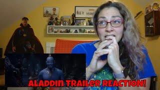 Disney's Aladdin Special Look Trailer #2 REACTION!!