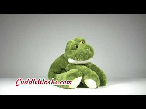 Stuffed Animal Frogs at CuddleWorks.com