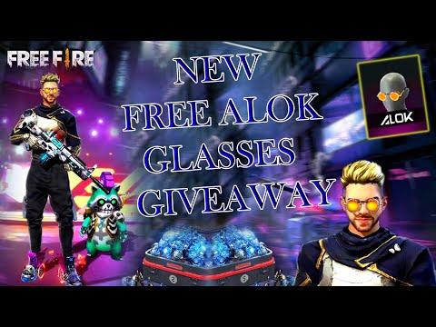 GIVEAWAY NEW ALOK GOGGLES GIFT !! DJ ALOK !! Garena Free Fire Live