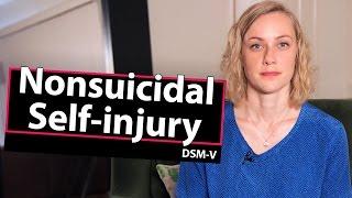 Diagnosis? Nonsuicidal Self-Injury