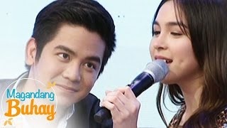Video Magandang Buhay: Julia's jealous moment with Joshua MP3, 3GP, MP4, WEBM, AVI, FLV Oktober 2018