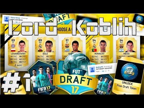 FIFA 17 | FUT DRAFT | Skládání Týmu! | #1 | CZ/SK