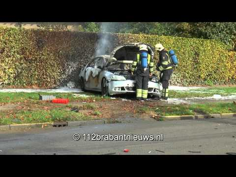 Politie houdt slachtoffer ontplofte auto aan