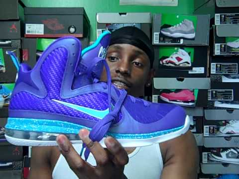 Nike Lebron 9 \u0026quot;SUMMIT LAKE HORNETS\u0026quot; EliteKicks #139