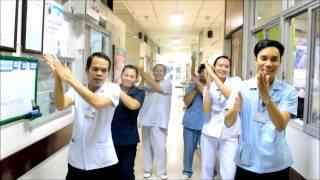 เพลงล้างมือ 6ขั้นตอน  เจ้าหน้าที่แผนกการพยาบาลอายุรกรรม รพ.ศรีนครินทร์  งานบริการพยาบาล