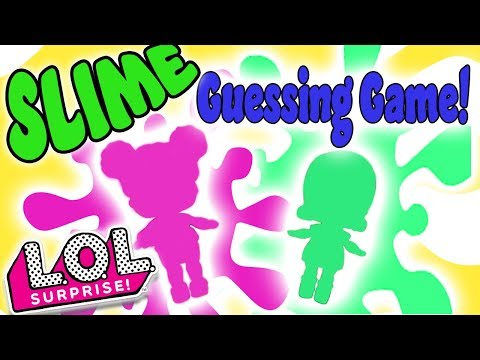 LOL Surprise Dolls Slime Guessing Game! Featuring MC Swag, Dollface, Court Champ, Dawn, And Beats!