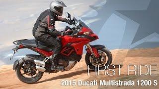 5. 2015 Ducati Multistrada 1200 S First Ride - MotoUSA