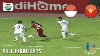 Video Indonesia (1) vs (0) Vietnam - Full Highlight   AFF U19 Championship 2018 MP3, 3GP, MP4, WEBM, AVI, FLV Januari 2019