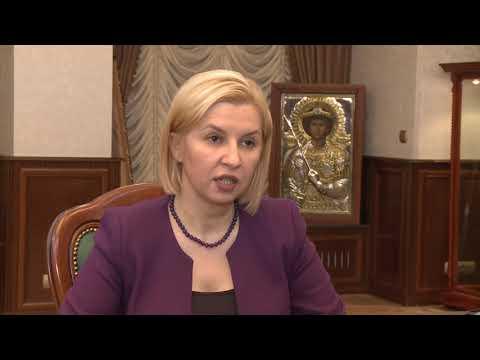 Igor Dodon a avut o întrevedere cu Irina Vlah
