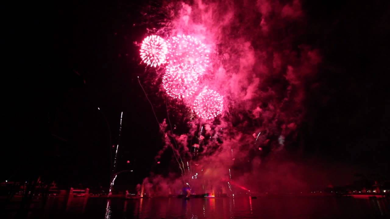 Epcot 30th Fireworks Tag