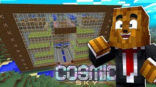 Making My $10M Beet Farm w/ BajanCanadian - Minecraft Cosmic Sky #17 | JeromeASF