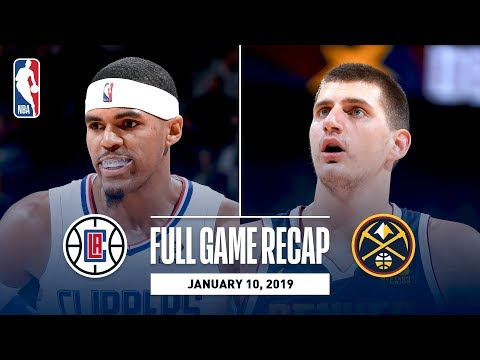 Video: Full Game Recap: Clippers vs Nuggets | Nikola Jokic Records 5th Triple-Double Of The Season