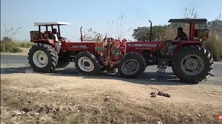 Big Tractor Tochan Completion , Massey 385 4WD Vs New Holland 7056 4WD, Tractor Tochan