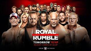 Nonton WWE Royal Rumble 2017! [WWE 2K17 Simulation] Film Subtitle Indonesia Streaming Movie Download