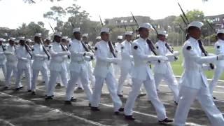 Desfile de encerramento da cerimônia em comemoração ao dia do Marinheiro e entrega da Medalha Mérito Tamandaré realizado no Centro de Instrução ...