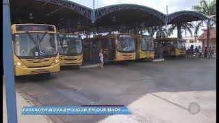 Ourinhos: tarifa do transporte público está mais cara