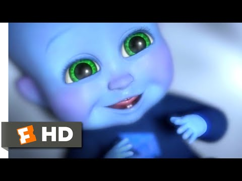 Megamind (2010) - Baby Megamind Scene (1/10)   Movieclips