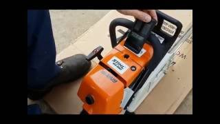 Video Stihl MS880 Chainsaw. First Fire Up Out Of The Box. Warragul. MP3, 3GP, MP4, WEBM, AVI, FLV April 2019
