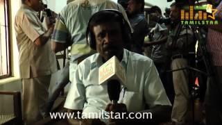N Moganarangan at Kamaraj Movie Shooting Spot