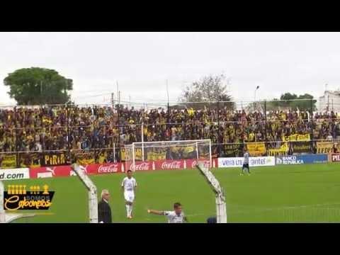 Compilado hinchada Peñarol en Jardines vs. Juventud | Clausura 2014 - Barra Amsterdam - Peñarol - Uruguay - América del Sur