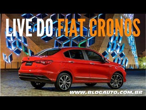 Nosso Live do FIAT CRONOS 2018 motores e transmissão - BlogAuto