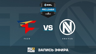 FaZe vs. EnVyUs - ESL Pro League S5 - de_train [yxo, Enkanis]