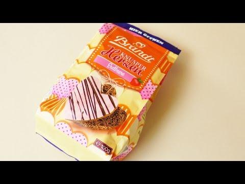 ALLES LIEBE ZUM VALENTINSTAG  ♥ Snack Test:  Brandt Knusper Herzen Erdbeere   Schoko Zwieback