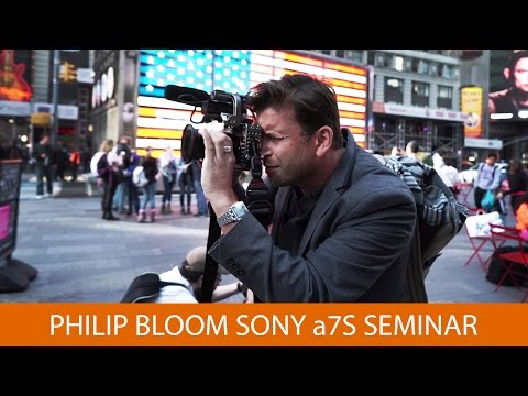 philip - In this seminar, director of photography and educator Philip Bloom takes us through his Sony a7S settings, as well as his views on the camera. Shop at B&H: h...