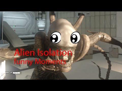 Alien Isolation Funny moments Compilation!