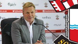 PRESS CONFERENCE: Ronald Koeman Pre-Manchester United