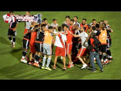 LOS FESTEJOS DEL CAMPEON / COPA ARGENTINA 2017 - Los Borrachos del Tablón - River Plate