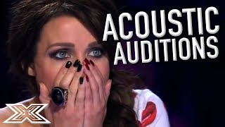 Video AMAZING ACOUSTIC Auditions! | X Factor Global MP3, 3GP, MP4, WEBM, AVI, FLV Agustus 2018