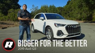 The 2019 Audi Q3 is bigger for the better - 4K by Roadshow