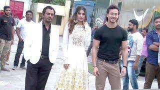 Tiger Shroff,Nawazuddin & Nidhi Agarwal INSIDE Filmcity Studio For Munna Michael Promotions
