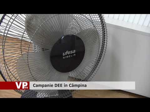 Campanie DEE în Câmpina