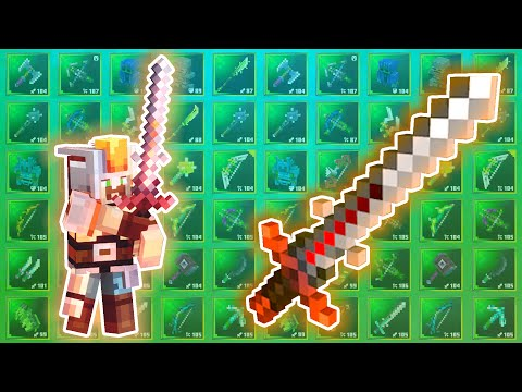 Crafting A Sword That Does 275,000 Damage Per Hit in Minecraft Dungeons