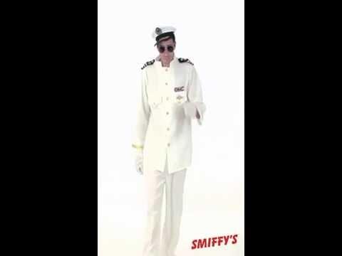 Déguisement de capitaine de la marine