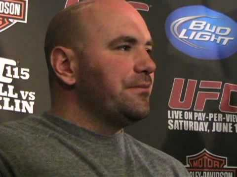 Dana White On Chuck Liddell's Future & UFC 115 at Weigh Ins