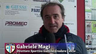 Interviste dopogara Villa San Martino vs Gabicce Gradara