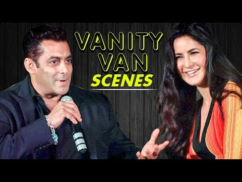 Katrina Kaif Spends Time In Salman Khan's Vanity V